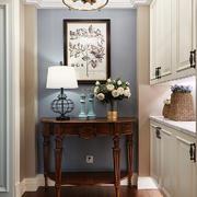 美式风格大户型精美玄关柜设计装修效果图