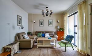 120平米欧式田园风格精美室内装修效果图案例