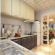 现代简约风格厨房设计装修效果图赏析