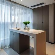 现代简约风格室内吧台设计装修效果图赏析