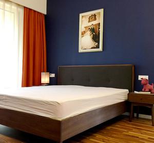 67平米现代简约风格时尚一居室室内装修效果图
