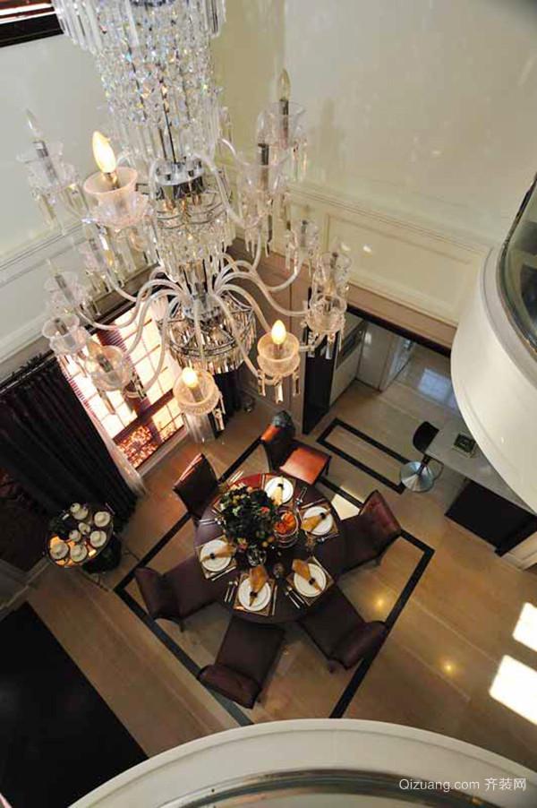 新古典主义风格典雅别墅室内装修效果图案例