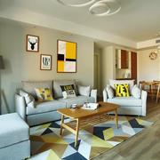 宜家风格简约温馨客厅设计装修效果图鉴赏
