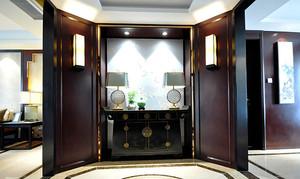 152平米中式风格古典精致大户型室内装修效果图