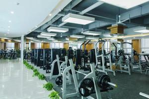 120平米现代风格精致健身房装修效果图赏析