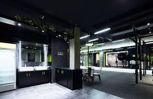 140平米现代风格健身房设计装修效果图