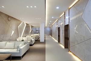 现代简约风格酒店休息区设计装修效果图