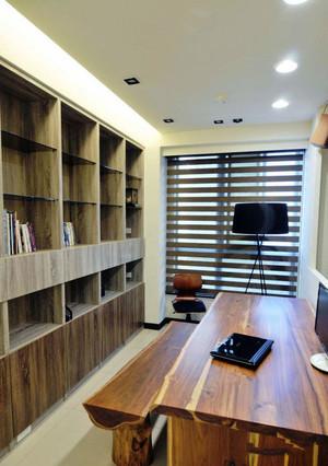 后现代风格简约书房设计装修效果图