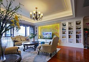 154平米混搭风格精美大户型室内装修效果图