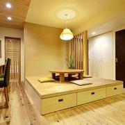 日式风格简约榻榻米设计装修效果图鉴赏
