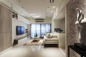 80平米现代风格精装室内装修效果图赏析