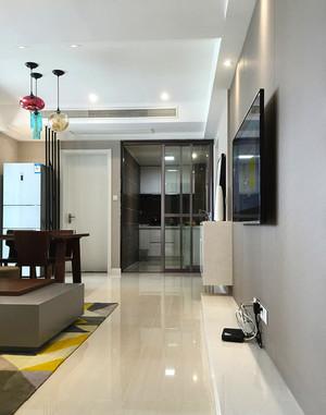 88平米现代简约风格精装两室两厅室内装修效果图