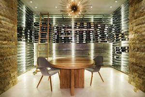 现代风格大户型时尚创意酒柜设计装修效果图