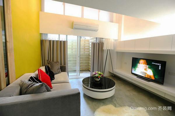 78平米现代简约风格loft装修效果图赏析