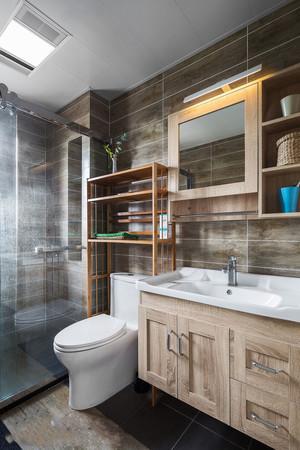 宜家风格复古主题卫生间浴室柜装修效果图