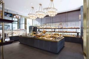 现代风格面包店装修实景图赏析