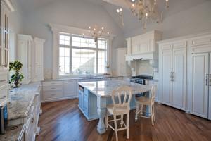 欧式风格白色精美厨房装修效果图赏析