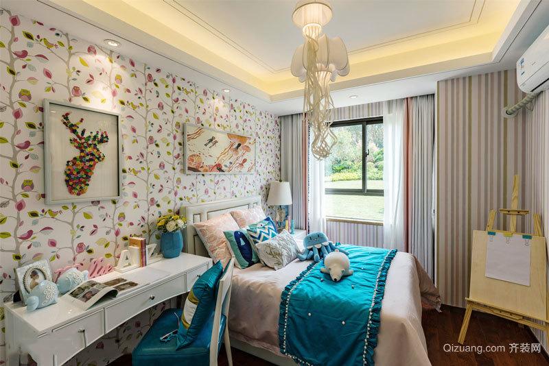 欧式风格精美儿童房设计装修效果图鉴赏