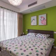 清新风格时尚卧室装修效果图赏析