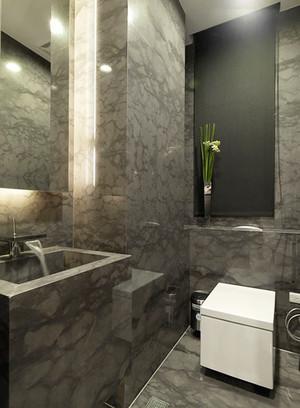 180平米现代简约风格复式楼室内装修效果图案例
