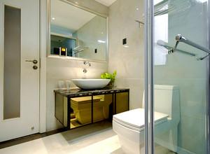 118平米现代简约风格三室两厅室内装修效果图案例