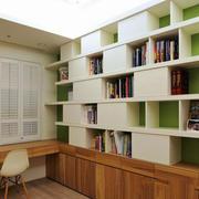 现代简约风格书房设计装修效果图鉴赏