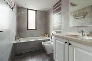 9平米现代风格精致卫生间设计装修效果图