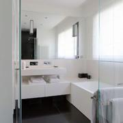 现代简约风格卫生间设计装修效果图鉴赏