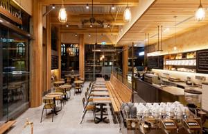后现代风格创意咖啡厅设计装修效果图