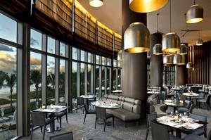 后现代工业风创意餐厅装修效果图鉴赏