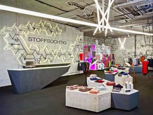 100平米后现代风格服装店设计装修效果图