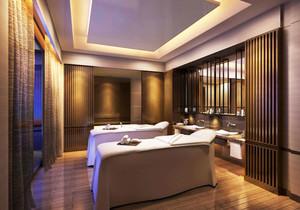 中式风格精致美容院设计装修效果图