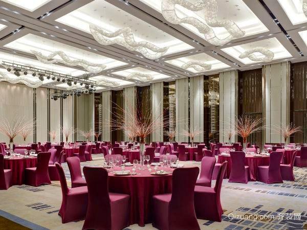 欧式风格五星级酒店餐厅装修效果图鉴赏