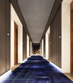现代风格精致酒店过道装修效果图