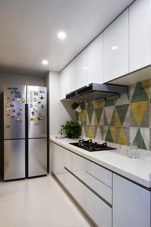北欧风格简约整体厨房装修效果图鉴赏