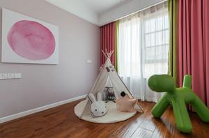 北欧风格时尚温馨儿童房设计装修效果图