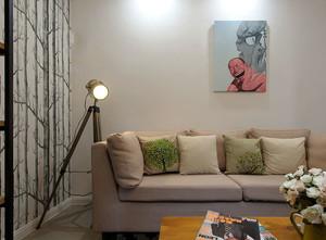 78平米北欧风格简约两室两厅室内装修效果图