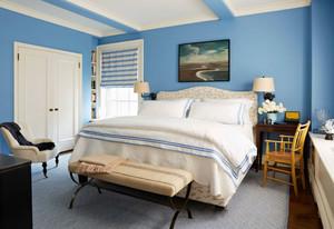 地中海风格清新卧室装修效果图鉴赏