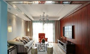 120平米混搭风格精美室内装修效果图案例鉴赏