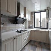 简欧风格精美厨房橱柜设计效果图