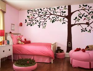 20平米简欧风格甜美儿童房设计装修效果图