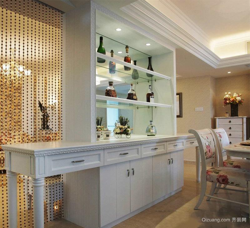 欧式风格室内精美酒柜设计装修效果图赏析