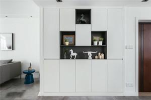 现代简约风格实用玄关鞋柜设计装修效果图