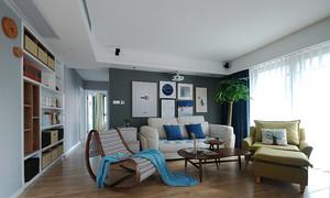 79平米宜家风格简约两室两厅室内装修实景图欣赏