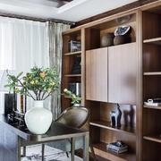 中式风格精致书房设计装修效果图