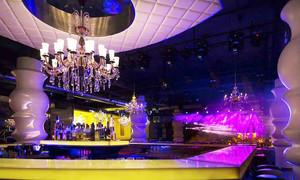 欧式风格精美时尚KTV大厅设计装修效果图