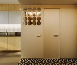 42平米现代风格精致单身公寓装修效果图赏析