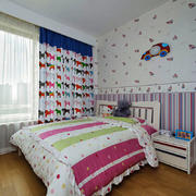 地中海风格精美儿童房设计装修效果图
