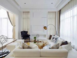141平米简欧风格精装大户型室内装修效果图