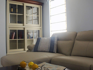 90平米简约美式风格精致室内装修效果图